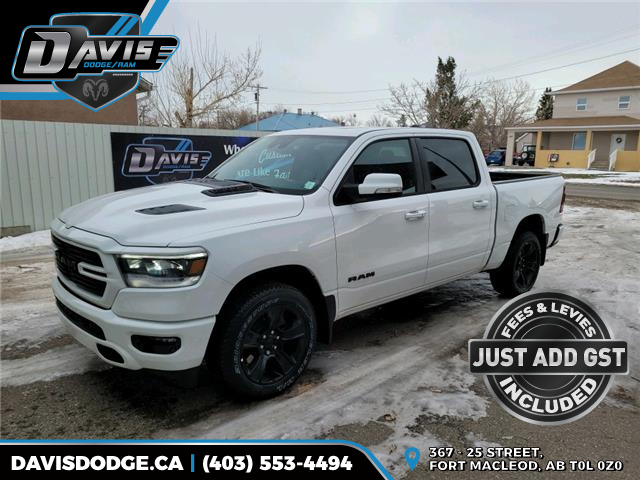 2021 RAM 1500 Sport (Stk: 18345) in Fort Macleod - Image 1 of 21