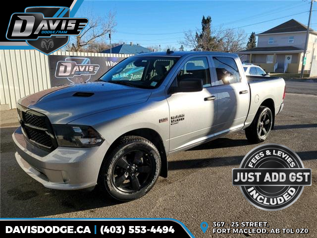 2021 RAM 1500 Classic Tradesman (Stk: 18376) in Fort Macleod - Image 1 of 17