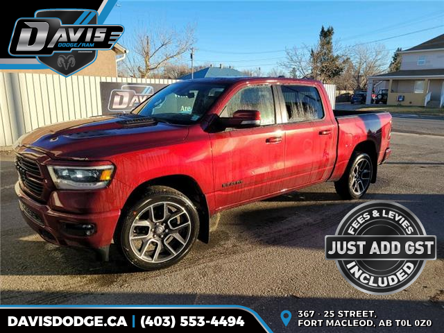 2021 RAM 1500 Sport (Stk: 18375) in Fort Macleod - Image 1 of 25