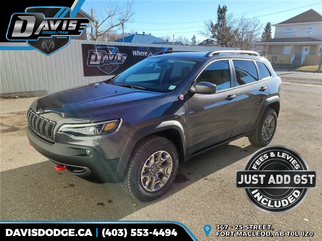 2021 Jeep Cherokee Trailhawk (Stk: 18374) in Fort Macleod - Image 1 of 19
