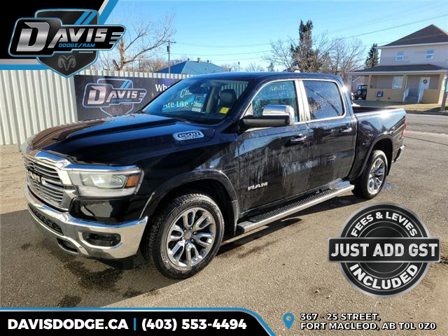 2019 RAM 1500 Laramie (Stk: 13323) in Fort Macleod - Image 1 of 19