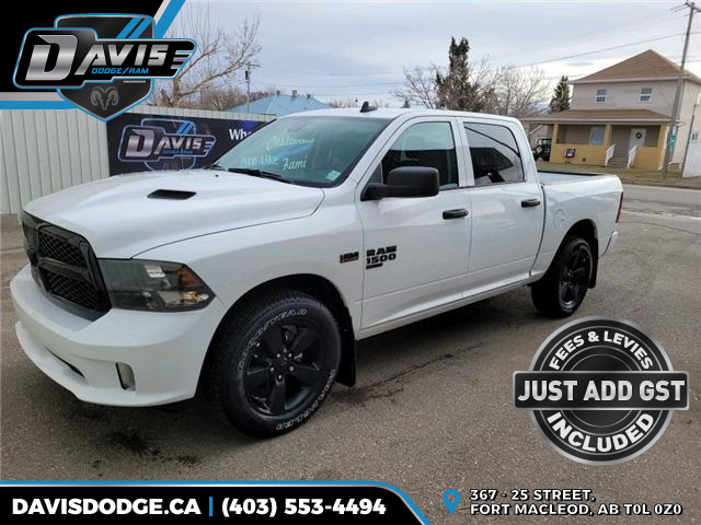 2021 RAM 1500 Classic Tradesman (Stk: 18445) in Fort Macleod - Image 1 of 17