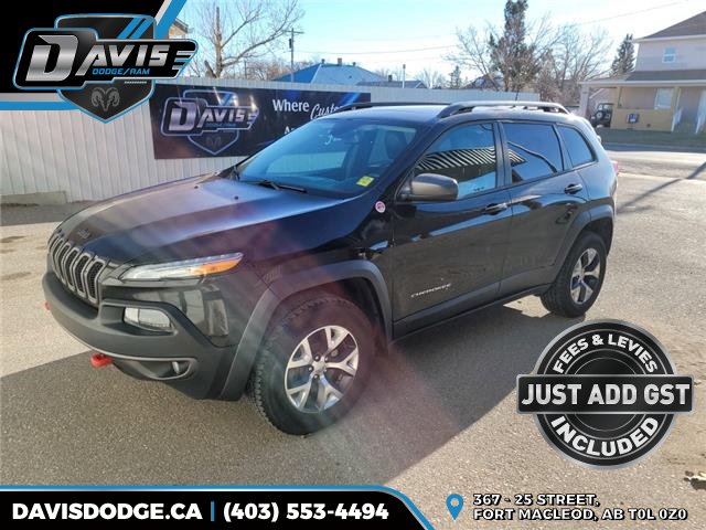 2016 Jeep Cherokee Trailhawk (Stk: 10080) in Fort Macleod - Image 1 of 21
