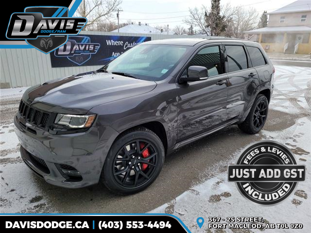 2021 Jeep Grand Cherokee SRT (Stk: 18499) in Fort Macleod - Image 1 of 24