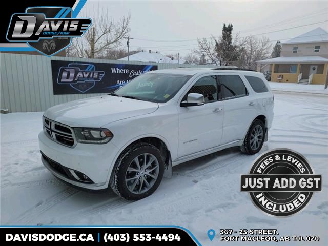 2020 Dodge Durango Citadel (Stk: 15858) in Fort Macleod - Image 1 of 23