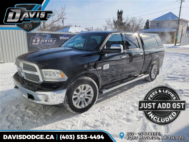 2014 RAM 1500 Longhorn 1C6RR7WT8ES325487 17848 in Fort Macleod