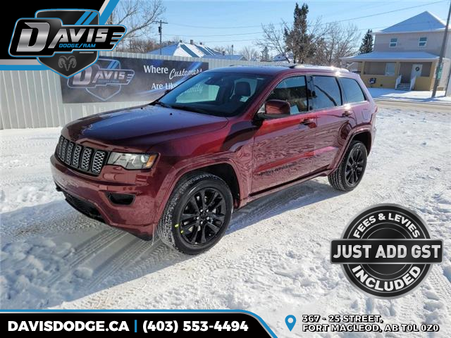 2021 Jeep Grand Cherokee Laredo (Stk: 18564) in Fort Macleod - Image 1 of 21