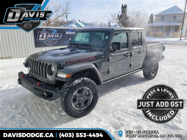 2021 Jeep Gladiator Rubicon (Stk: 18565) in Fort Macleod - Image 1 of 19