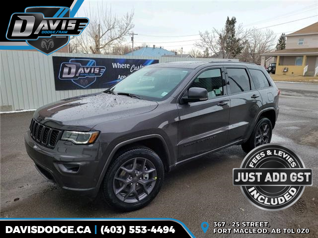 2021 Jeep Grand Cherokee Limited (Stk: 18614) in Fort Macleod - Image 1 of 23