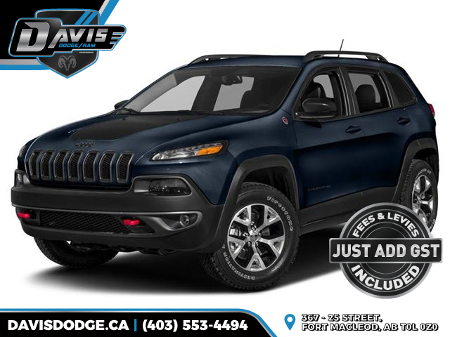 2016 Jeep Cherokee Trailhawk (Stk: 7696) in Fort Macleod - Image 1 of 10