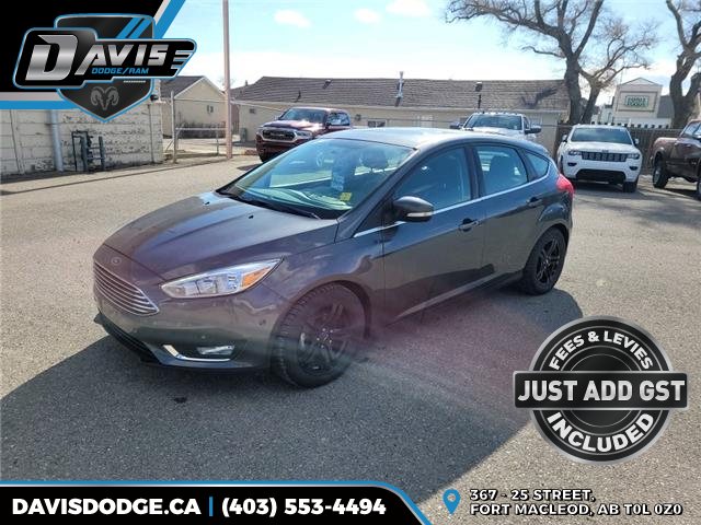 2018 Ford Focus Titanium (Stk: 18638) in Fort Macleod - Image 1 of 20