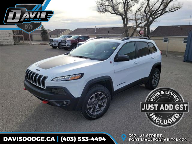 2016 Jeep Cherokee Trailhawk (Stk: 9205) in Fort Macleod - Image 1 of 21
