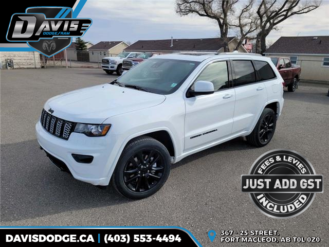 2021 Jeep Grand Cherokee Laredo (Stk: 18643) in Fort Macleod - Image 1 of 22