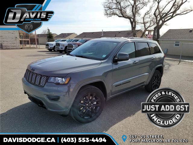 2021 Jeep Grand Cherokee Laredo (Stk: 18669) in Fort Macleod - Image 1 of 22