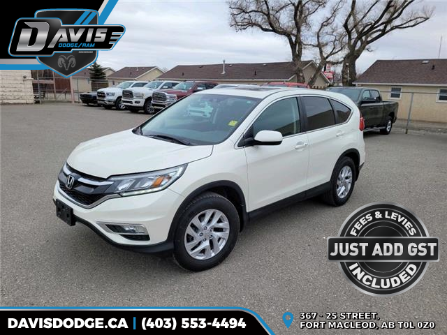 2015 Honda CR-V EX 2HKRM4H56FH131898 18680 in Fort Macleod