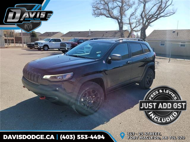 2021 Jeep Cherokee Trailhawk (Stk: 18693) in Fort Macleod - Image 1 of 22
