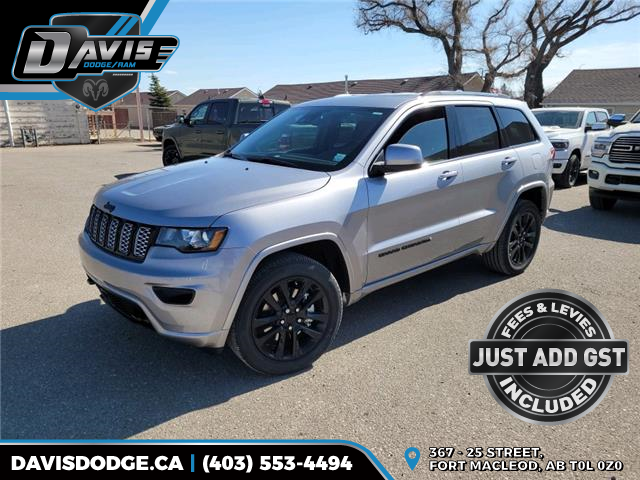 2021 Jeep Grand Cherokee Laredo (Stk: 18728) in Fort Macleod - Image 1 of 21