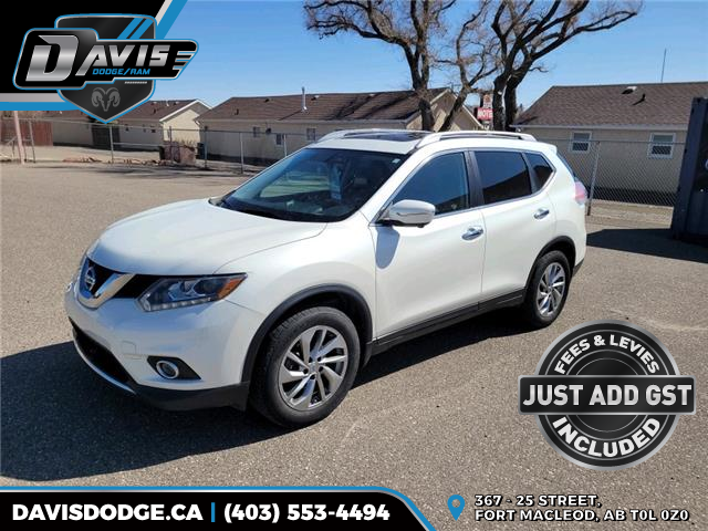 2015 Nissan Rogue S 5N1AT2MV0FC801169 18763 in Fort Macleod