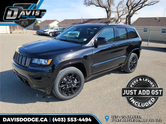 2021 Jeep Grand Cherokee Laredo (Stk: 18826) in Fort Macleod - Image 1 of 18