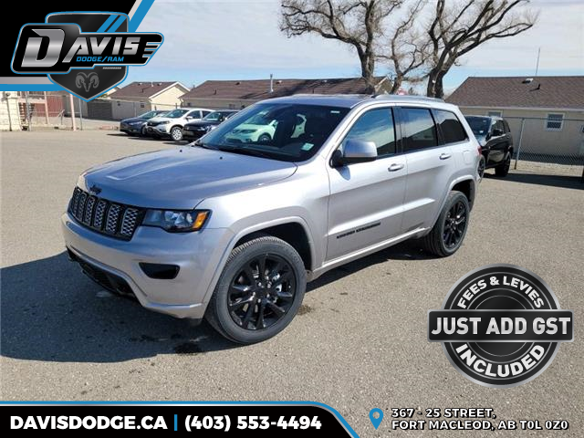2021 Jeep Grand Cherokee Laredo (Stk: 18868) in Fort Macleod - Image 1 of 20