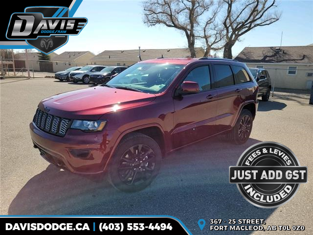 2021 Jeep Grand Cherokee Laredo (Stk: 18867) in Fort Macleod - Image 1 of 21