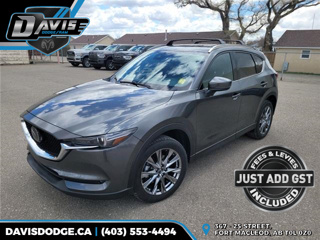 2019 Mazda CX-5 Signature JM3KFBEY1K0660463 18930 in Fort Macleod