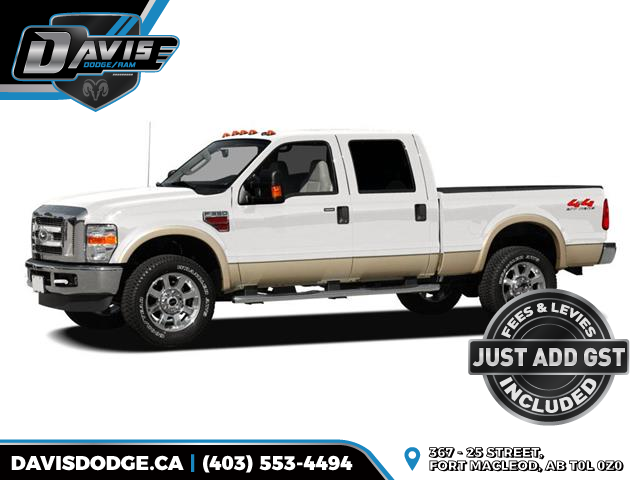 2008 Ford F-350 XLT (Stk: 19143) in Fort Macleod - Image 1 of 1