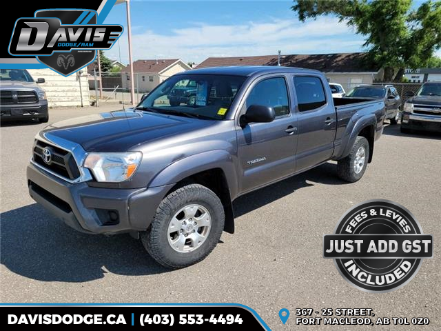 2013 Toyota Tacoma V6 (Stk: 19144) in Fort Macleod - Image 1 of 17