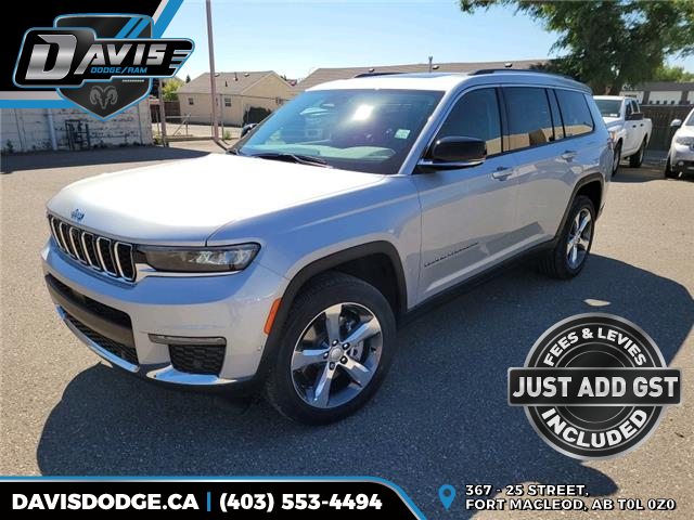 2021 Jeep Grand Cherokee L Limited (Stk: 19411) in Fort Macleod - Image 1 of 27