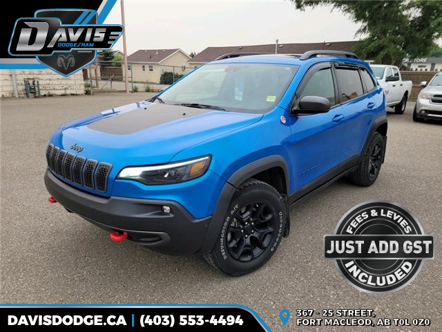 2019 Jeep Cherokee Trailhawk (Stk: 15792) in Fort Macleod - Image 1 of 22
