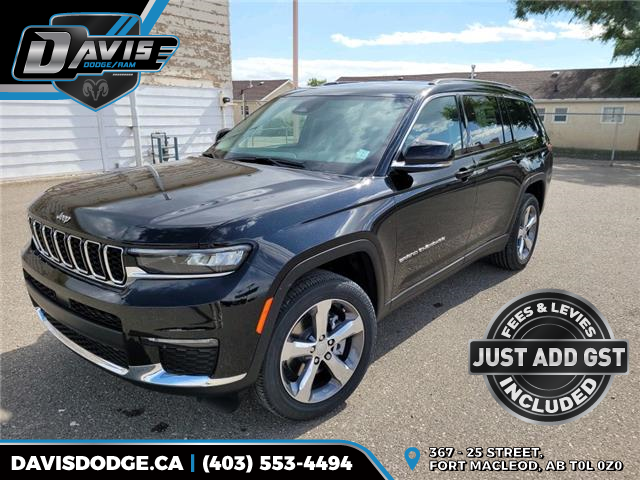 2021 Jeep Grand Cherokee L Limited (Stk: 19639) in Fort Macleod - Image 1 of 18