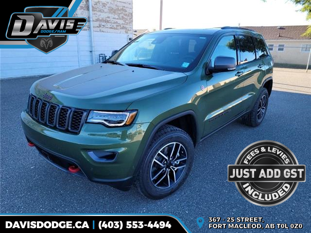 2021 Jeep Grand Cherokee Trailhawk (Stk: 19643) in Fort Macleod - Image 1 of 23