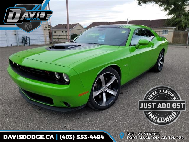 2017 Dodge Challenger R/T (Stk: 19551) in Fort Macleod - Image 1 of 20