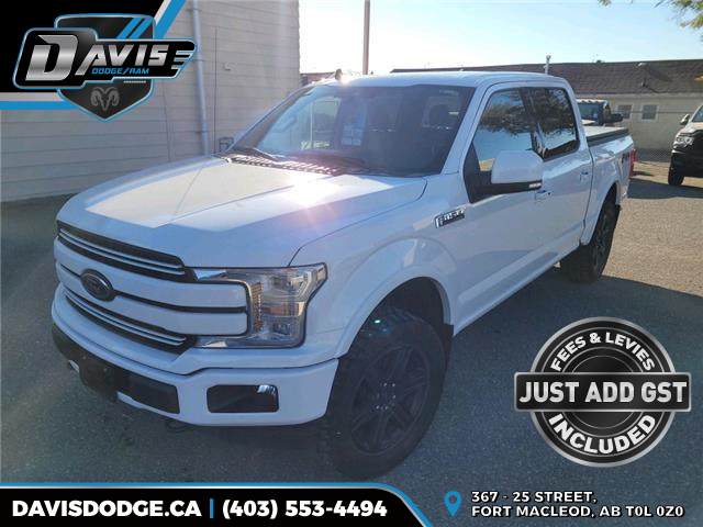 2019 Ford F-150 Lariat 1FTEW1E43KFB05900 19702 in Fort Macleod