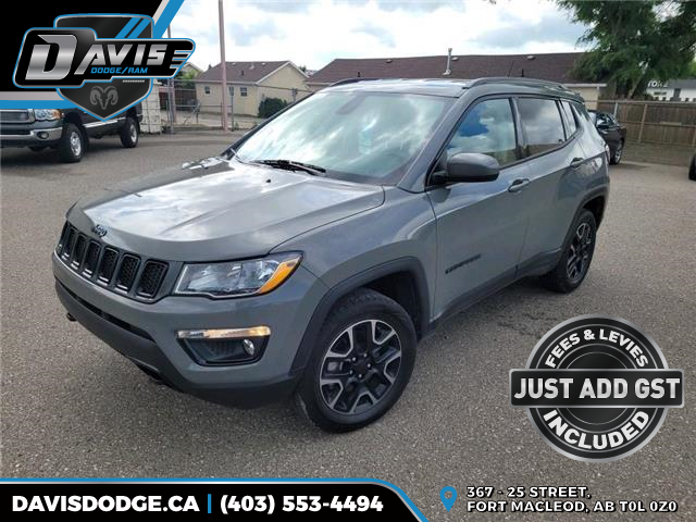 2019 Jeep Compass Sport (Stk: 17348) in Fort Macleod - Image 1 of 18