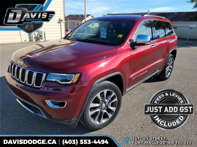 2017 Jeep Grand Cherokee Limited (Stk: 10448) in Fort Macleod - Image 1 of 21