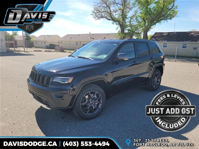 2021 Jeep Grand Cherokee Limited (Stk: 19096) in Fort Macleod - Image 1 of 22