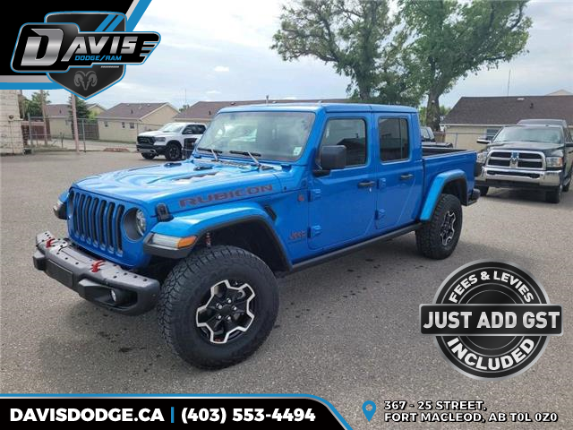 2021 Jeep Gladiator Rubicon (Stk: 19131) in Fort Macleod - Image 1 of 20