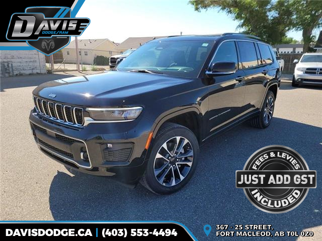 2021 Jeep Grand Cherokee L Overland (Stk: 19410) in Fort Macleod - Image 1 of 30