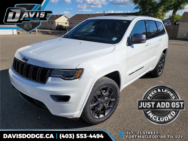 2021 Jeep Grand Cherokee Limited (Stk: 19641) in Fort Macleod - Image 1 of 23