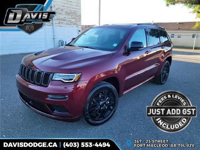 2021 Jeep Grand Cherokee Limited (Stk: 19642) in Fort Macleod - Image 1 of 22