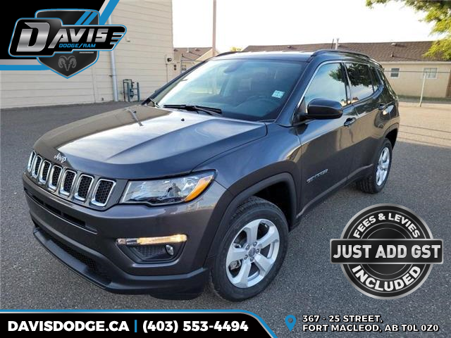 2021 Jeep Compass North (Stk: 19668) in Fort Macleod - Image 1 of 17