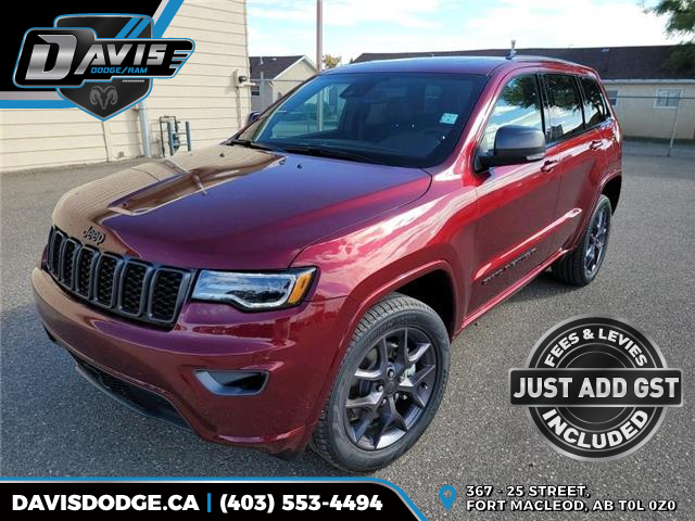 2021 Jeep Grand Cherokee Limited (Stk: 19669) in Fort Macleod - Image 1 of 23