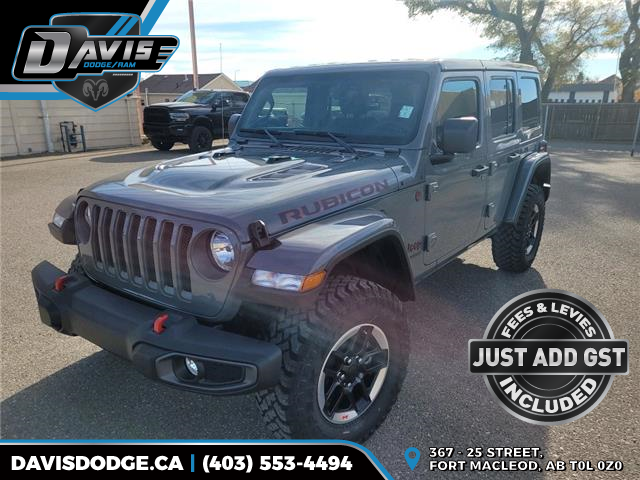2021 Jeep Wrangler Unlimited Rubicon (Stk: 19814) in Fort Macleod - Image 1 of 20
