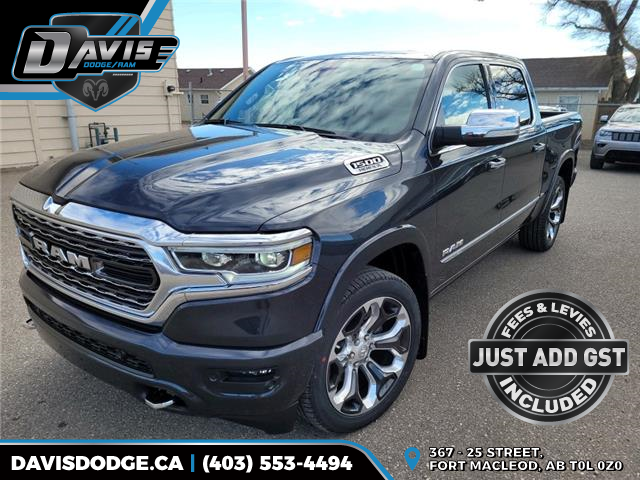 2022 RAM 1500 Limited (Stk: 19817) in Fort Macleod - Image 1 of 22