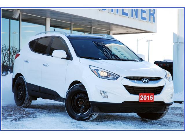 2015 Hyundai Tucson GLS (Stk: 9F1100A) in Kitchener - Image 1 of 17