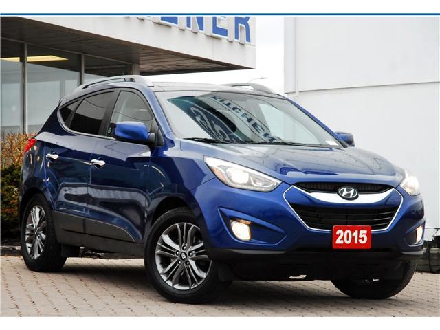 2015 Hyundai Tucson Limited (Stk: 8F10700B) in Kitchener - Image 1 of 15