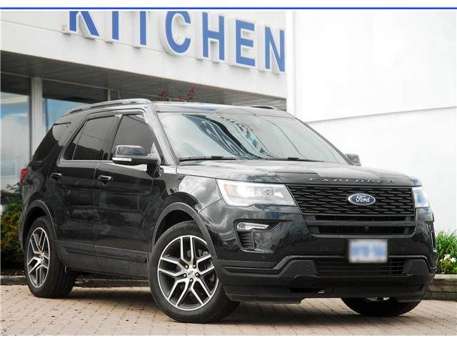 2018 Ford Explorer Sport (Stk: 145100) in Kitchener - Image 1 of 18