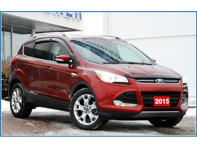 2015 Ford Escape Titanium (Stk: D92620A) in Kitchener - Image 1 of 18