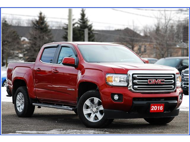 2016 GMC Canyon SLE (Stk: D92230A) in Kitchener - Image 1 of 16